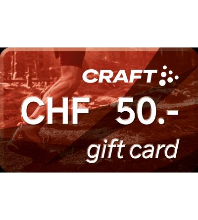 Cartes cadeaux  Carte cadeau - CHF 50.- -